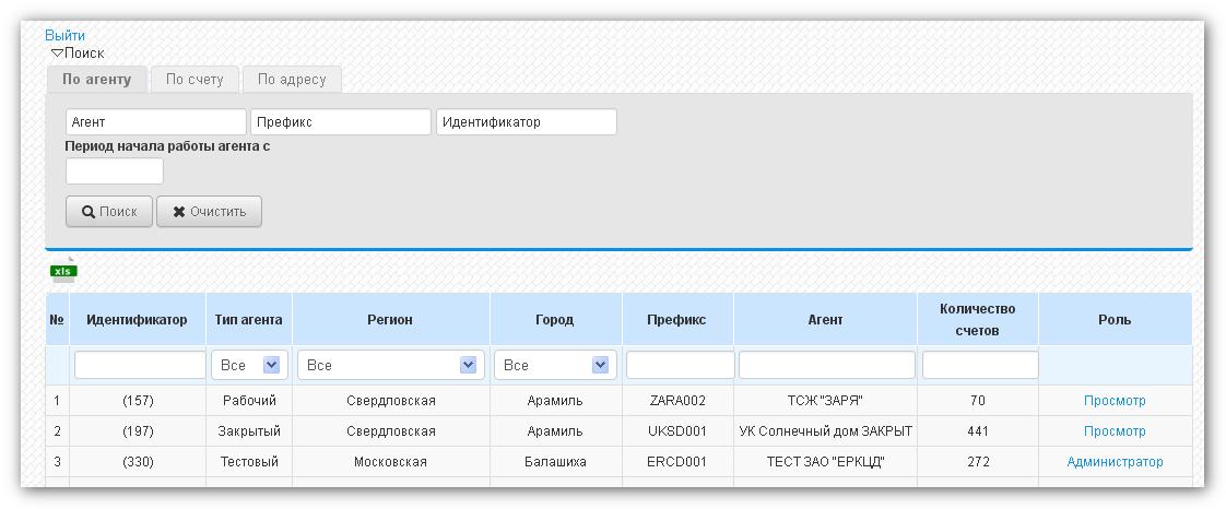 Организации ЖКХ, доступные начислениям и расчеты за ЖКУ